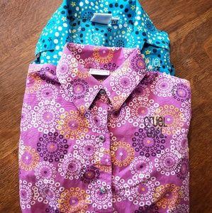 Little Cowgirl Buttondown shirts